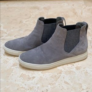Vince high top sneakers grey 7.5